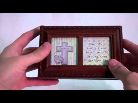 Gifts for a Godson: Keepsake Wooden Musical Box