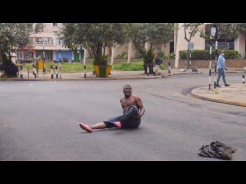 Fikita aibiwa na team @GeneralTheodore Nairobi CBD#karibunairobi