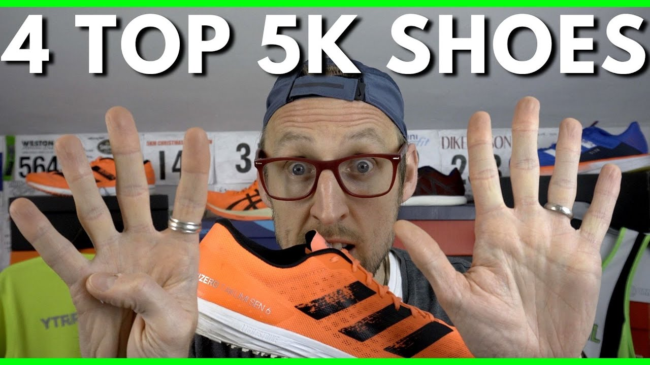 The best running shoes for 5k