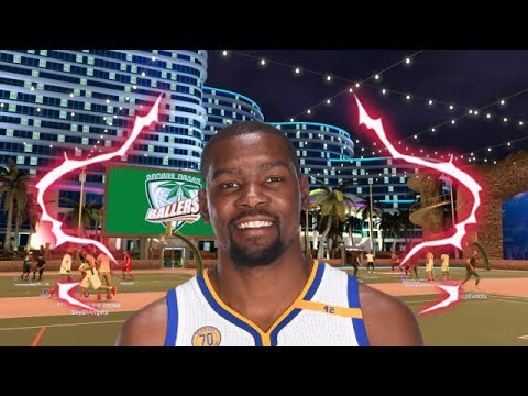 KEVIN DURANT AT THE PARK NBA 2K17 OVERPOWRED BUILD  nba 2k17
