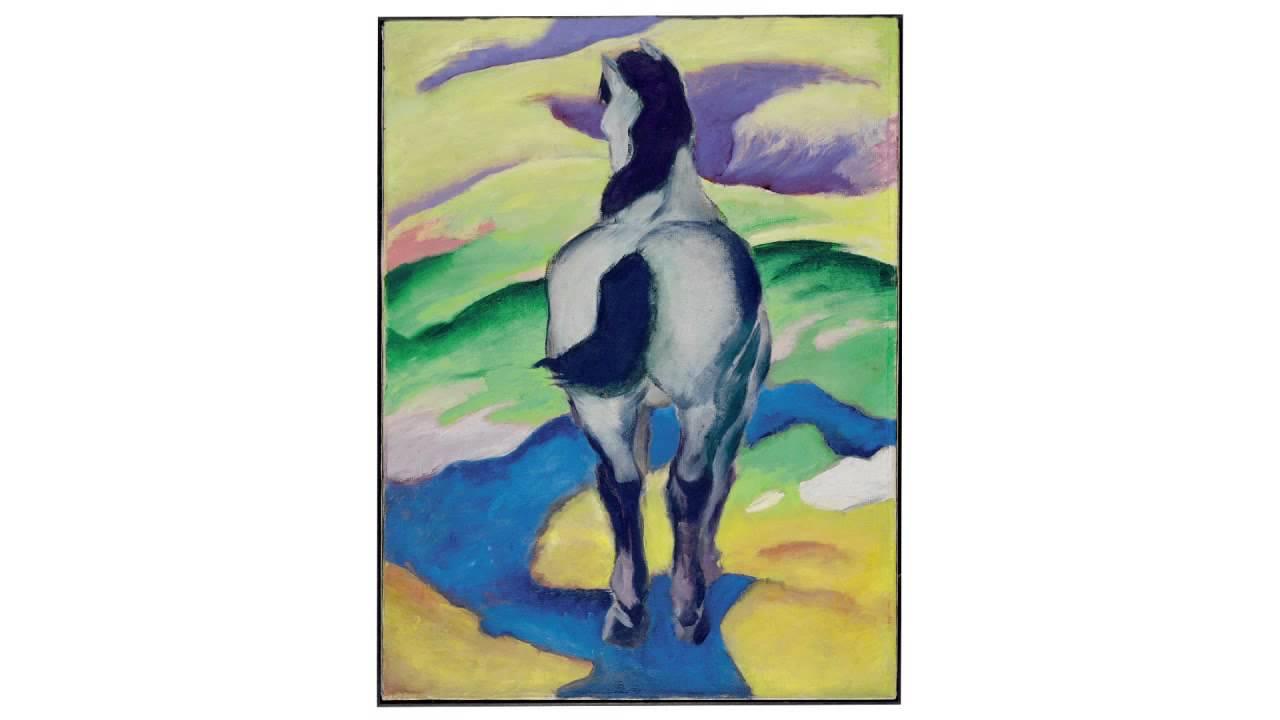 Franz Marc Blaues Pferd Ii 1911