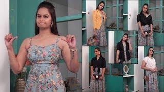 "5 amazing ways to style your amazing ""Maxi dress""       NEHA REDDY"