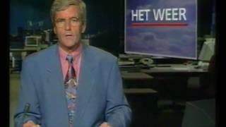 Nederland 2 - STER + NOS Journaal + closedown (augustus 1992)