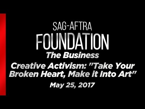"""The Business: Creative Activism: """"Take Your Broken Heart, Make it Into Art"""""""