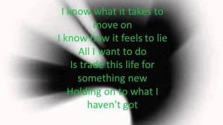 Linkin Park- Waiting For the End (lyrics)