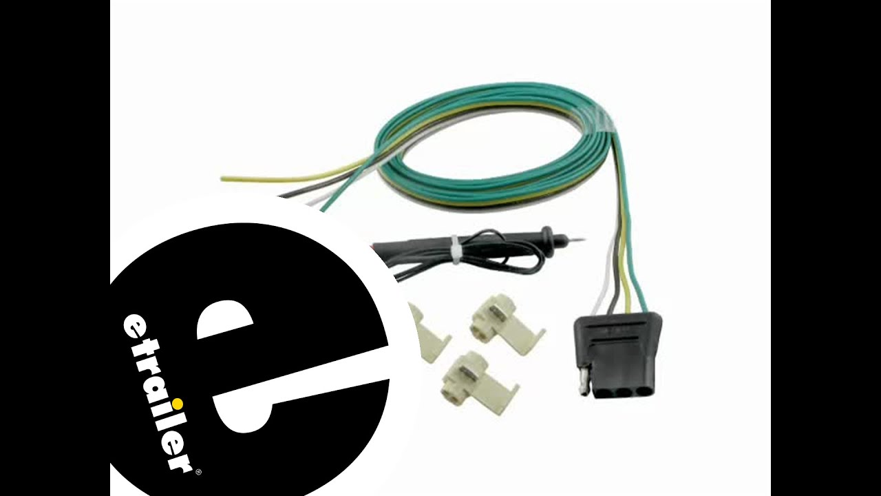 hight resolution of trailer wiring harness installation 2008 ford f 250 etrailer com