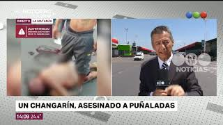 Se pelearon por cajones de manzana en el mercado y un hombre murió acuchillado