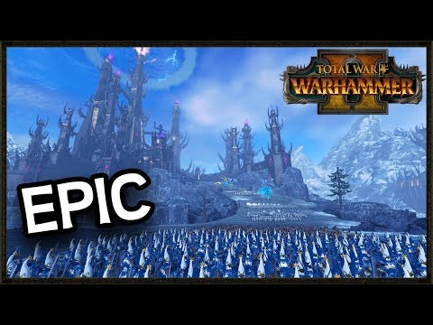 Epic Custom Map Siege Battle At The Tower of Witchcraft Total War Warhammer 2