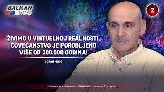 INTERVJU: Goran Mitić - Živimo u virtuelnoj realnosti, porobljeni smo 300.000 godina! (5.12.2019)