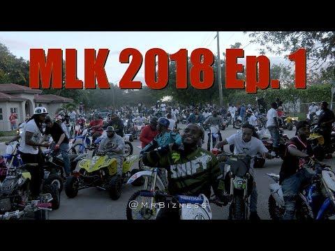 Bikelife Miami MLK Rideout 2018 Ep. 1  (Dir | @MrBizness)