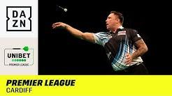 Heimspiel für die Waliser Clayton und Price in Cardiff | Premier League of Darts | DAZN Highlights