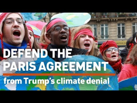 National Day of Action Against Trump's Paris Agreement Withdrawal
