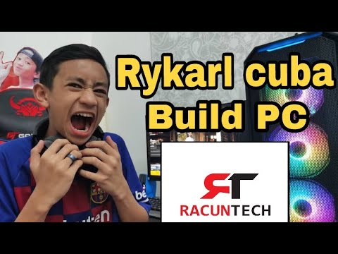 Rykarl Cuba Build PC + Unboxing  MALAYSIA Rykarl Unboxing