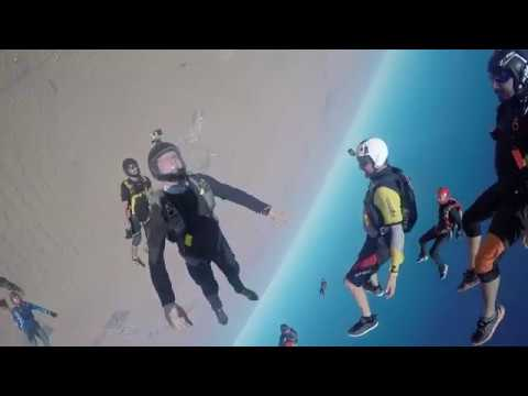 Camping in the sky | #SkydiveDubai