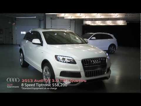 The Audi Q7 -- Power and sophistication in equal measure.