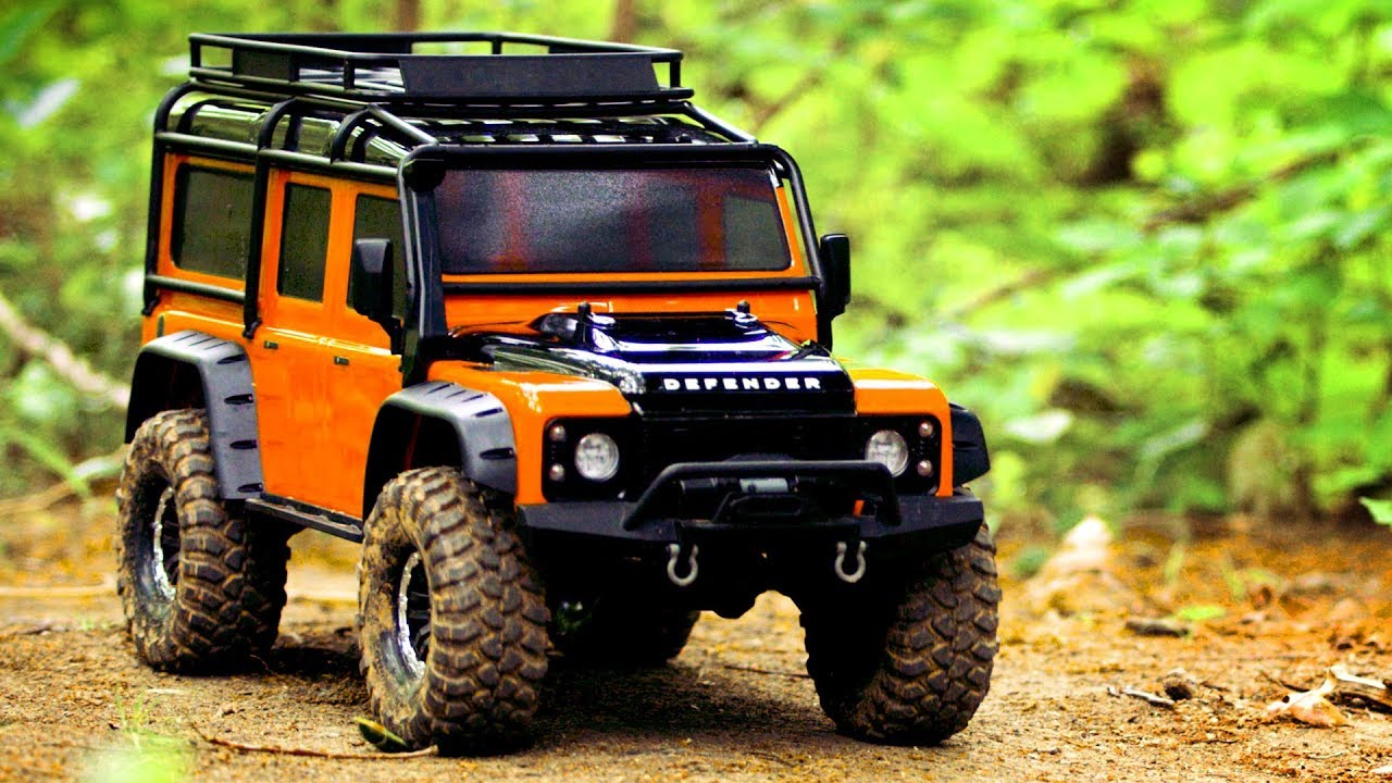 The New Adventure Edition Traxxas Trx 4 Defender Youtube