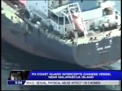 Chinese ship intercepted in Cebu234