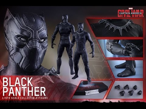 HOT TOYS - BLACK PANTHER - MMS 363 - CIVIL WAR - French Review Francaise