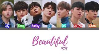 IKON (???) 'Beautiful' lyrics (color coded - han/rom/eng)