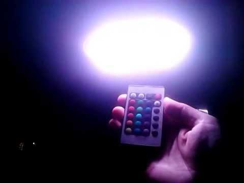 Plafoniere Led Rgb : Iluminat plafoniera dacia logan cu leduri rgb controller dome auto