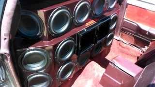 Tang Band - 16 8 inch subs on 800 watts