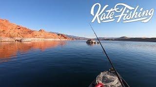 Fall Kayak Bass Fishing in Southern Utah Part 1
