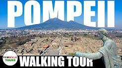 Pompeii Walking Tour 2020 [4K|60fps] - Walks in Italy