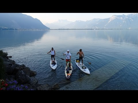 Lake Geneva circumnavigation - Charity project 2015
