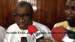 Me Sidiki KABA, garde des sceaux, ministre de la justice rassemble au Sénégal Oriental (Français)