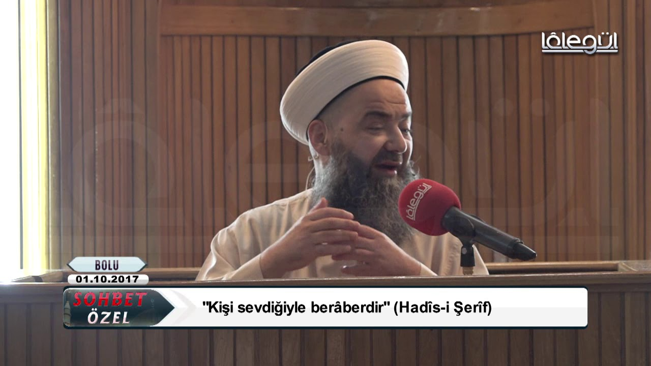 1 Ekim 2017 Tarihli Bolu Sohbeti Özel - Cübbeli Ahmet Hocaefendi Lâlegül TV