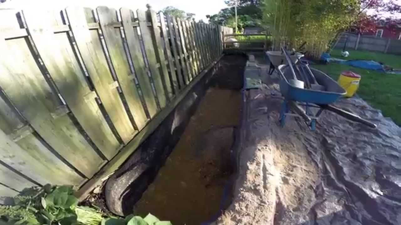 Bamboo Rhizome Barrier Maintenance Removal And Install Of