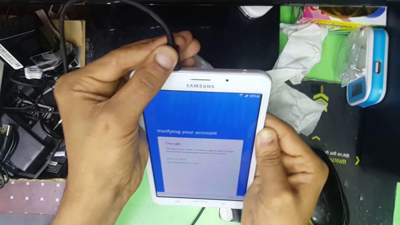 TAB A 6(SM-T285) FRP google unlock by QSM, New way to unlock FRP google  account