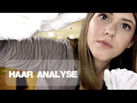 ASMR Entspannte Behandlung im Haar Studio  • HAAR ANALYSE • whispered Roleplay in German/Deutsch