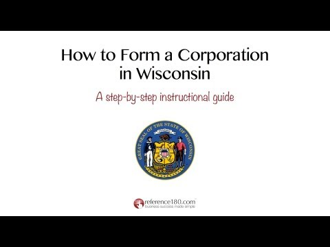 How To Incorporate In Wisconsin
