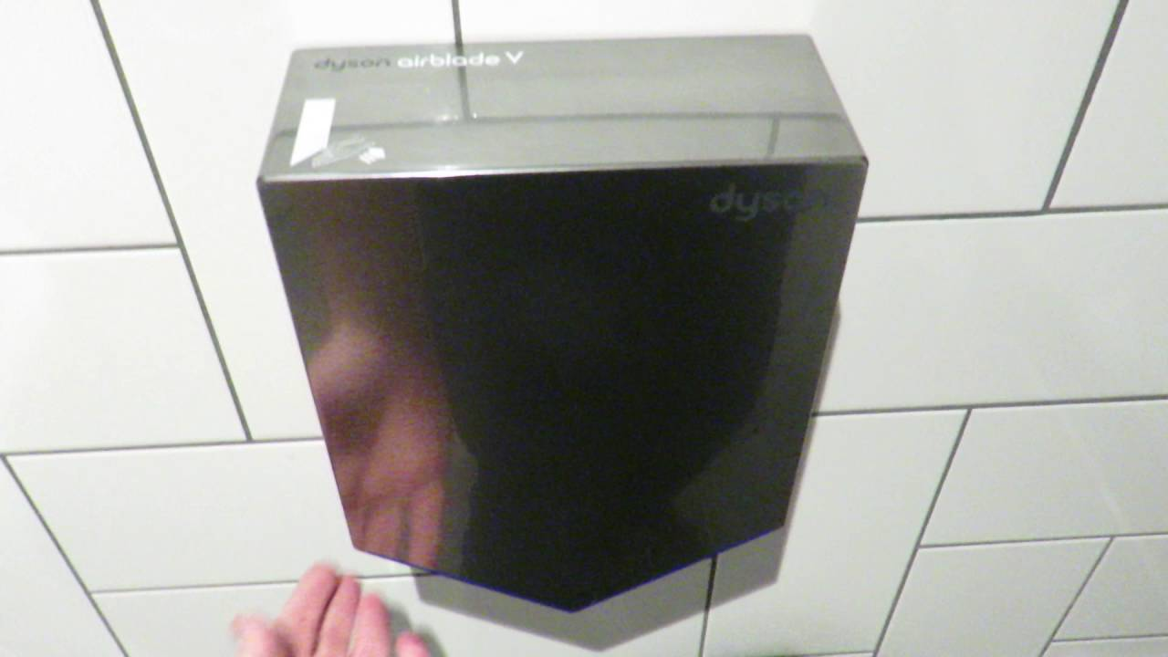 New Dyson Airblade V Hand Dryer - YouTube