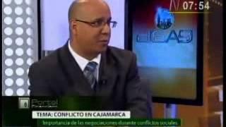 D6a9 Entrevista Luis Ore Negociaciones y Cajamarca