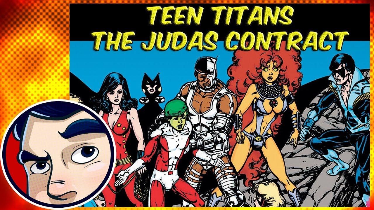 Download Teen Titans Judas Contract & Origin of Nightwing - Complete Story | Comicstorian