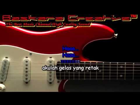 Gelas Retak Mansur S karaoke No Vokal