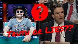 Professional Poker Player Says Comey is Telling the Truth