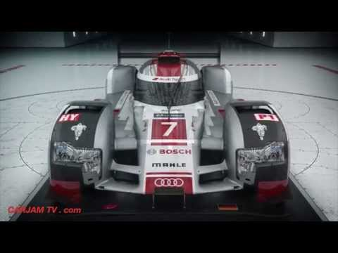Audi R18 In Detail 2015 Le Mans Race Car Audi R18 etron Quattro Infographic Commercial CARJAM TV HD