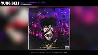 Yung Beef - Bebo Champagne y Lo Tiro (feat. Los Jibaros) (Audio Oficial)