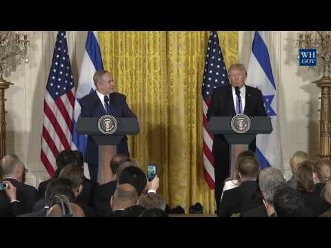 Joint Press Conference w/ Prime Minister Netanyahu