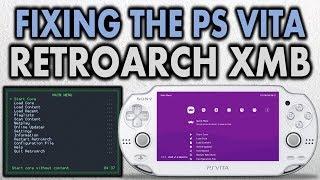 Fixing The RetroArch XMB Theme On PS Vita!