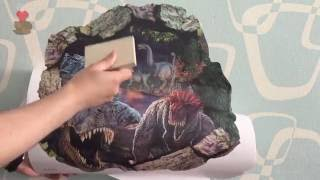 видео Наклейки на стену с Алиэкспресс