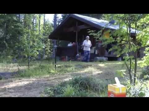 Finnland  Hütten Seen