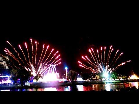 Pháo hoa ngày lễ Moomba, Last day MOOMBA fireworks at 11 03 2018 Melbourne Australia