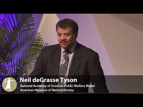 2015 National Academy of Sciences Public Welfare Medal Recipient – Neil deGrasse Tyson, 4.26.2015