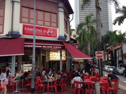 Kampong Glam Cafe Bussorah Street Singapore by HourPhilippines.com