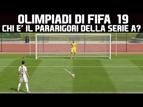 CHI E' IL MIGLIOR PARARIGORI DELLA SERIE A? OLIMPIADI di FIFA 19 !