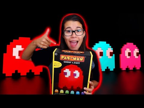 Pac-Man Ghost Lamp Unboxing